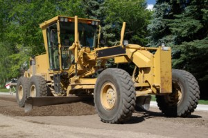 Grader training mining equipment