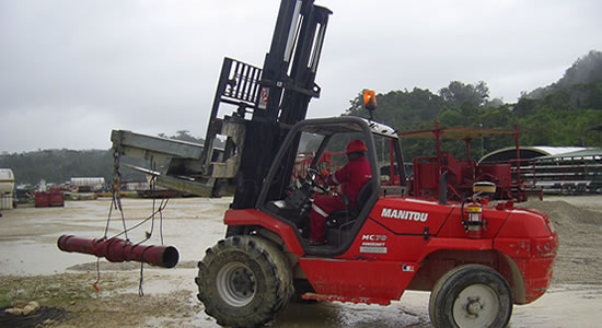 Forklift Training Courses PNG