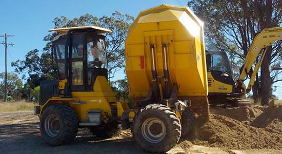 Site Dumper truck training Brisbane
